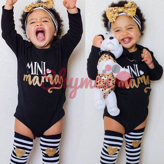 Mini Mama Girls Romper