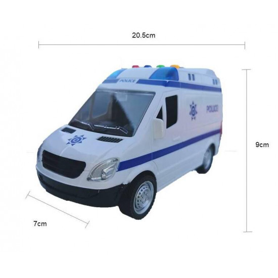 Inertia Police truck
