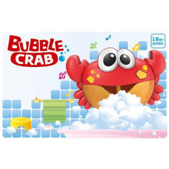 Bubble crab bath toy