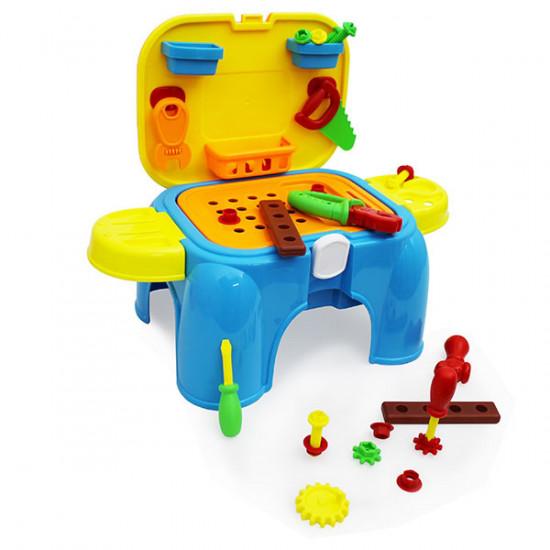 Junior builder tool play set seat